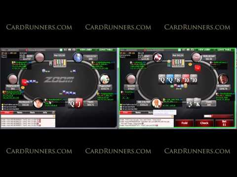 cardrunners - Live Sessions: $100NL Zoom 6-Max In this live play video, Verneer plays two tables of $100NL Zoom on Stars. Pawel discusses min-raising the button, handling ...