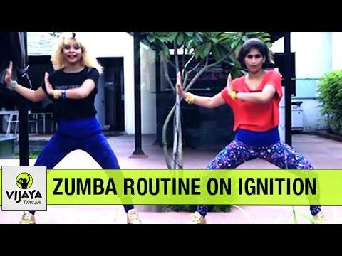 Zumba Warm-Up on Ignition | Zumba Dance Fitness | Choreographed by Vijaya Tupurani