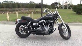 10. Used Harley Davidson Street Bob 2009 Black Exhaust for sale
