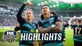 Mönchengladbach vs. Hertha BSC Berlin | 2019 Bundesliga Highlights