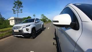 Cảnh báo điểm mù BSW trên Mitsubishi Outlander 2020