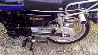 9. ZHUJIANG 150CC BIKE ENGINE THROTTLE