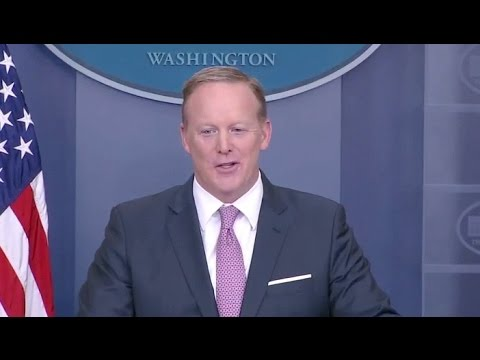 May 12, 2017 Sean Spicer White House Press Briefing- Full Event