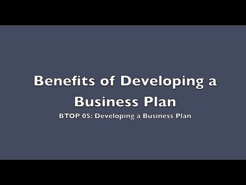 BTOP 05: Business Plan Explained Pt2