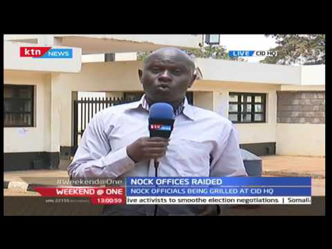 NOCK OFFICES RAIDED: Live updates with Patrick Amimo