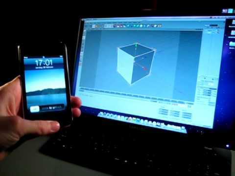 0 GripTools Remote: Cinema 4D controlado con un iPhone o iPod touch