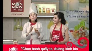 Món Ngon Mỗi Ngày - Bánh quẩy nhồi chả tôm