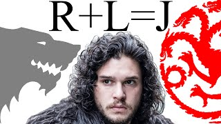 R+L=J is one of the biggest and oldest Game of Thrones / ASOIAF fan theories. Who is Jon Snow's mother? Is Jon secretly a ...