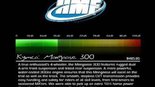 7. HMF: Kymco Mongoose 300
