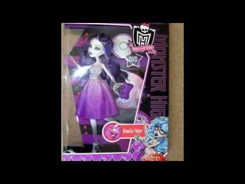 Смотреть видео как сделать куклу монстер хай своими руками