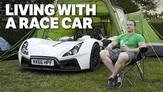 Can You Daily Drive A Road Legal Race Car With No Windscreen?