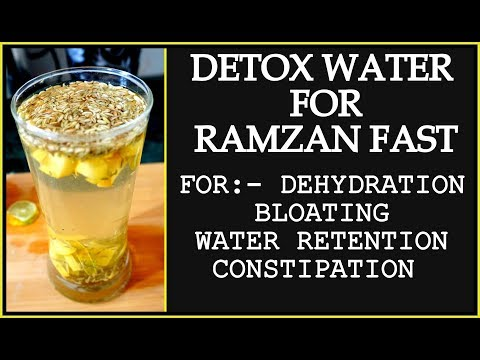 Ramadan Detox Water Recipe for Weight Loss  How to Lose Weight Fast in Ramadan  Ramzan Detox Drink