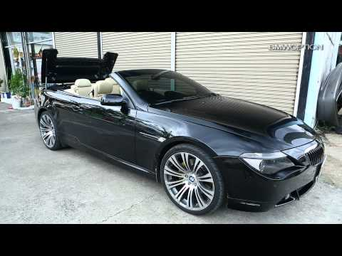 BMWOPTION : Smart Top for BMW 6er E64 645 Convertible