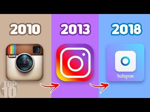 10 FAMOUS COMPANY LOGOS THEN AND NOW