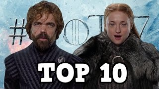It's time for my top 10 reunions I want to see in Game of Thrones season 7! I love it when we see characters be reunited after a long time. Who did not cry when ...