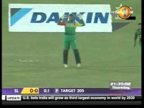 Sangakkara smashes Ajmal for a flat six, Asia Cup, 2012