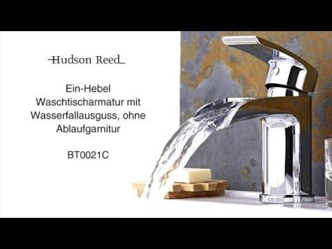 Hudson Reed Waschtischarmatur mit Wasserfall BT0021C