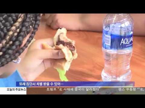 뉴욕시 공립학교 무상 급식 촉구 4.18.17 KBS America News