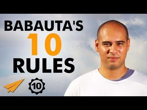 Leo Babauta's Top 10 Rules For Success (@zen_habits)