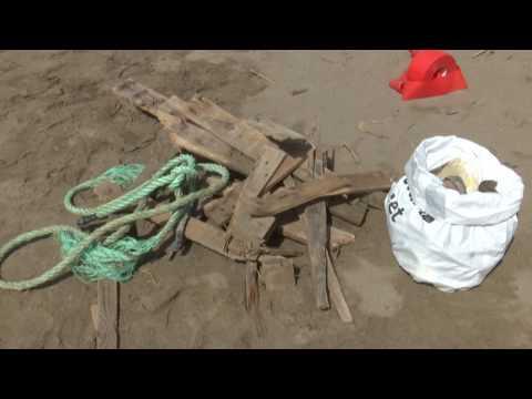 El 90% de brossa marina del Delta de l'Ebre és plàstic