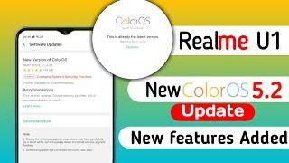Video Realme U1 Software Update Start Rolling Out,  New Color Os Download Now MP3, 3GP, MP4, WEBM, AVI, FLV September 2019