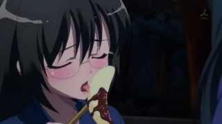 Rika Comiendo Banana - Boku wa Tomodachi Ga Sukunai