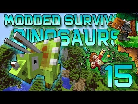 Minecraft: Modded Dinosaur Survival Let's Play w/Mitch! Ep. 15 - Until Next Time!