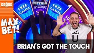 Video 🎡MAX BET w/ Brian's Magic Touch ✦ BCSlots MP3, 3GP, MP4, WEBM, AVI, FLV Desember 2018