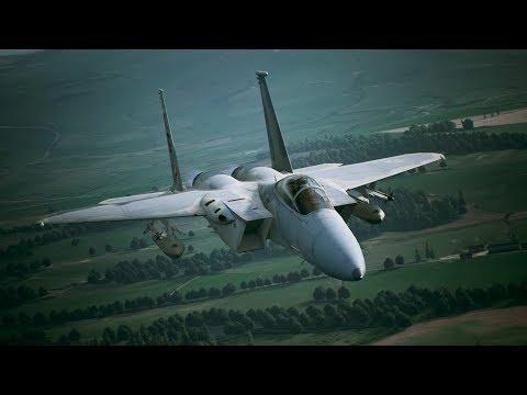 Aircraft Profile: F-15C  de Ace Combat 7