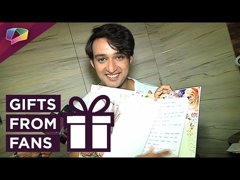 Saurbah Raj Jain's gift segment