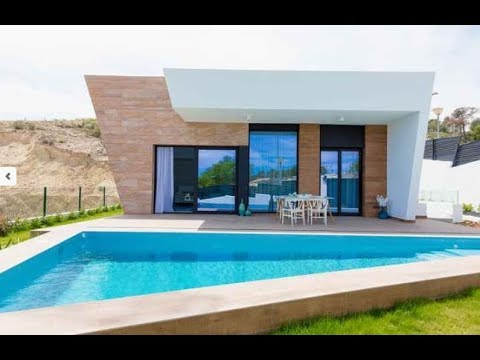 High-tech villa in Spain! House in Benidorm at a super price!