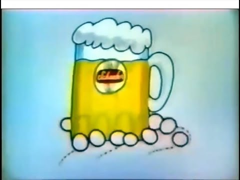 Animated Scheafer Beer Commercial (1972)