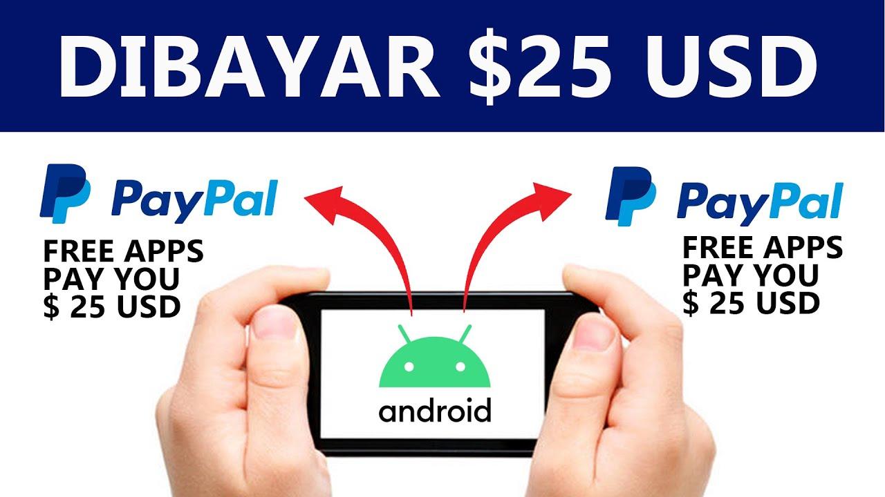 Dibayar $25 Aplikasi Penghasil Uang Cara Mendapatkan Uang ...
