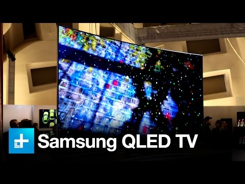 Samsung QLED TV - Hands on at CES 2017