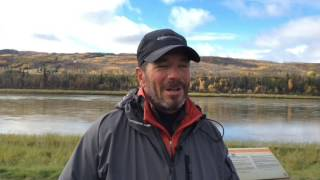 A little recap our first few weeks on the Peace River by Pierre