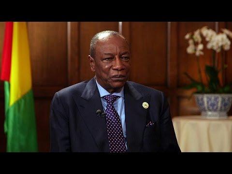 Ο Πρόεδρος της Γουινέας, Άλφα Κοντέ μιλά στο Euronews – interview