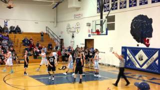 Almost scores a Game-Winning Basketball Shot