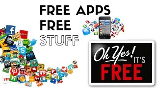 TOP 5 FAVORITE APPS TO GET FREE STUFF