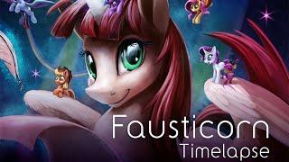 Fausticorn (Art Timelapse)