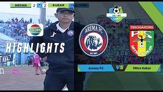 Video LIGA 1: Arema FC 2 - 2 Mitra Kukar - Full Highlights MP3, 3GP, MP4, WEBM, AVI, FLV April 2018