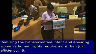 Prameswari Puspa Dewi's Intervention at HLPF 2019: http://webtv.un.org