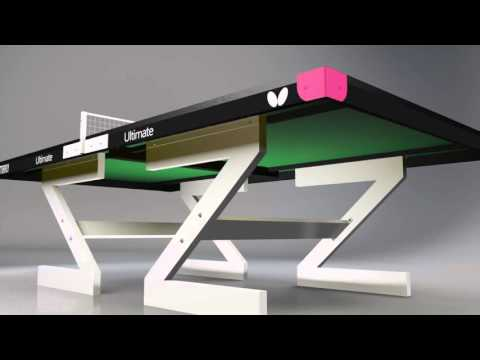 Butterfly Ultimate Outdoor Table Tennis Table AW15