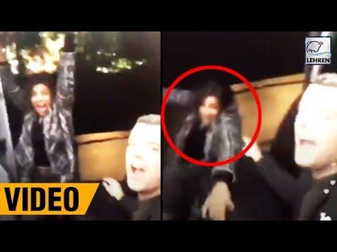 Priyanka Chopra FALLS Off A Moving Car WATCH VIDEO