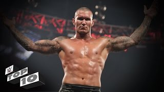 Randy Orton's Greatest RKOs Outta Nowhere: WWE Top 10