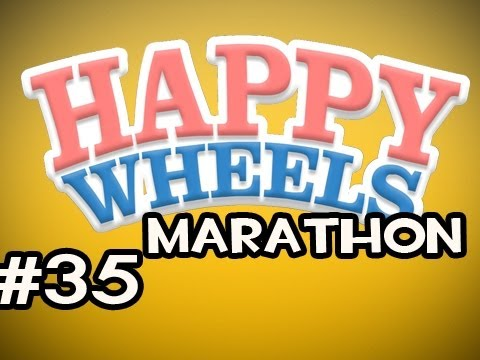 Happy Wheels MARATHON w/Nova Ep.35 - It Keeps Happening....AGAIN Video