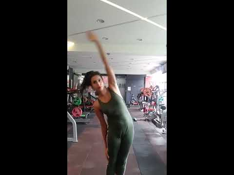 Kannada Actress Sanjana Galrani's Super Workout Video EXCLUSIVE