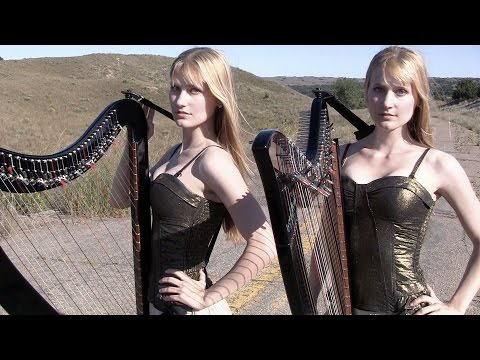 SWEET CHILD O' MINE – Guns N' Roses (Harp Twins) Camille and Kennerly