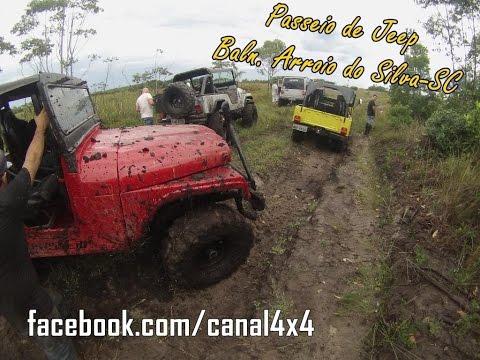 Passeio de Jeep Willys em Balneário Arroio do Silva-SC