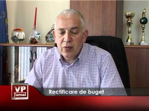 Rectificare de buget