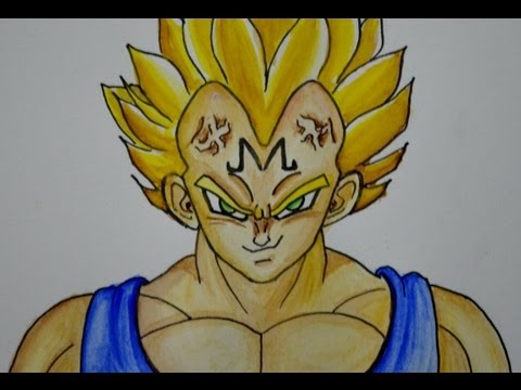Dibujos a lapiz de Dragon Ball Z faciles de goku - Imagui